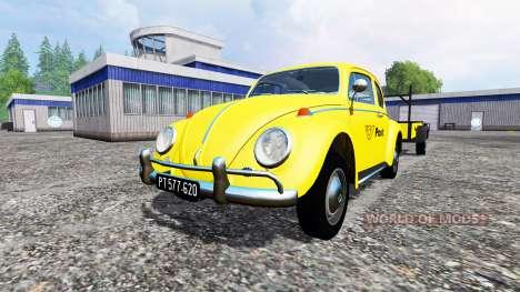 Volkswagen Beetle 1966 [Post Edition] v2.0 для Farming Simulator 2015