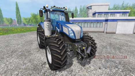 New Holland T8.420 [blue power] v1.0 для Farming Simulator 2015