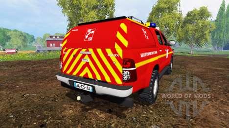 Toyota Hilux VLHR для Farming Simulator 2015