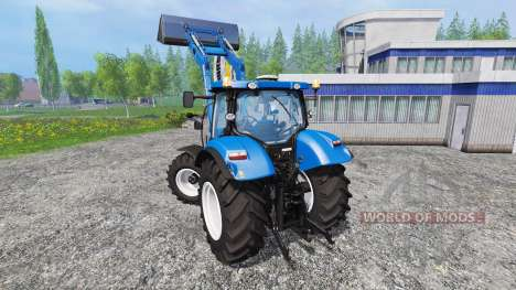 New Holland T6.160 v1.0.0 для Farming Simulator 2015