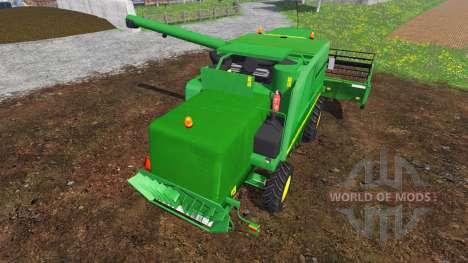 John Deere 9640 WTS v2.1 для Farming Simulator 2015