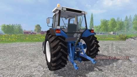 Ford 6640 FL для Farming Simulator 2015