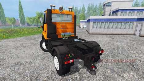 Mercedes-Benz Unimog U400 v1.1 для Farming Simulator 2015
