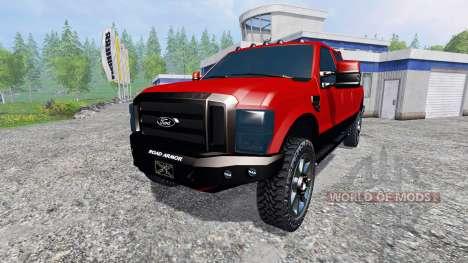 Ford F-250 2009 для Farming Simulator 2015