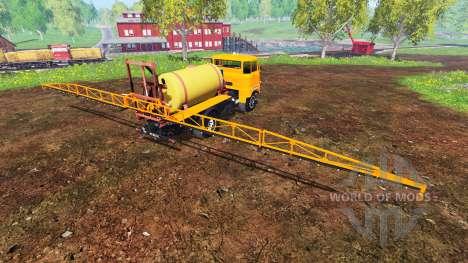 IFA W50 [sprayer] для Farming Simulator 2015