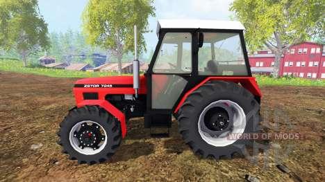 Zetor 7245 v0.1 для Farming Simulator 2015