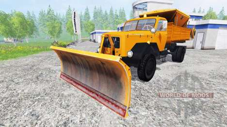Magirus-Deutz 200D26 1964 [snow plow] для Farming Simulator 2015