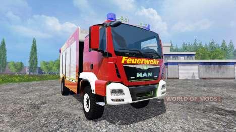 MAN TGM 14.250 Firetruck для Farming Simulator 2015