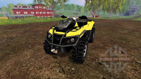 Can-Am Outlander 1000 XT v1.0 для Farming Simulator 2015