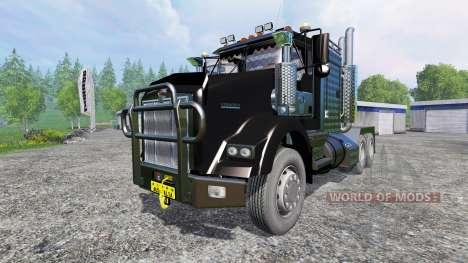 Kenworth T800 v1.0 для Farming Simulator 2015