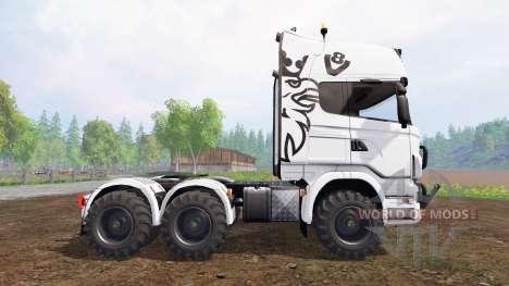Scania R730 [agro] для Farming Simulator 2015