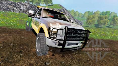 Ford F-350 [welding bed] v2.1 для Farming Simulator 2015