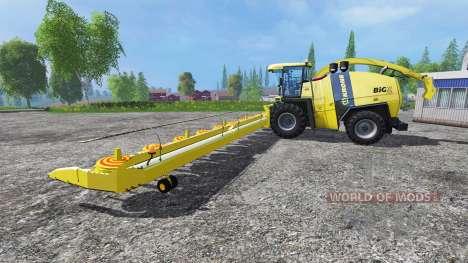 Krone Big X 1100 [Kemper Cutter] для Farming Simulator 2015