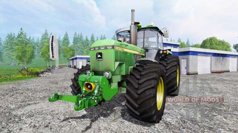 John Deere 4755 v2.0 для Farming Simulator 2015