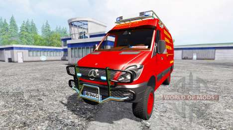 Mercedes-Benz Sprinter [feuerwehr] для Farming Simulator 2015