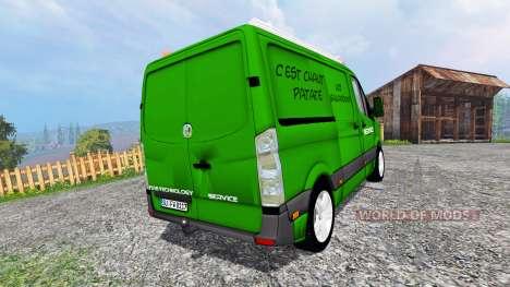 Volkswagen Crafter Service [pour galax] для Farming Simulator 2015