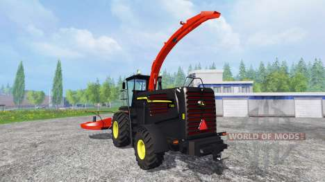John Deere 7180 [black and red edition] для Farming Simulator 2015