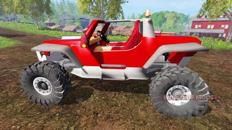 Jeep Hurricane Twin Hemi для Farming Simulator 2015