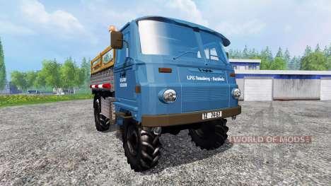 Robur LD 3000 v2.0 для Farming Simulator 2015