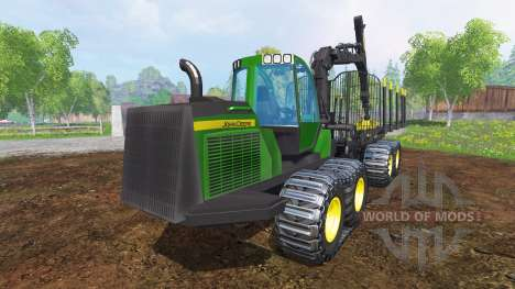 John Deere 1510E v2.0 для Farming Simulator 2015