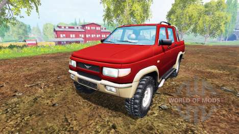 УАЗ-2362 v2.0 для Farming Simulator 2015