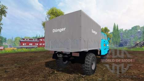 IFA W50L Service для Farming Simulator 2015