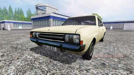 Opel Rekord C 1967 для Farming Simulator 2015