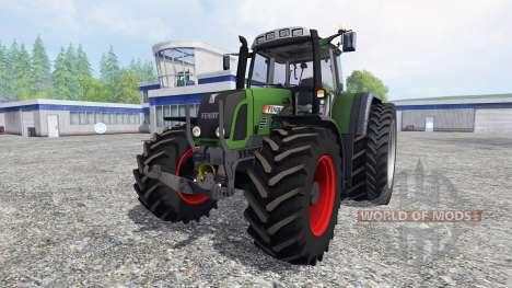 Fendt 820 Vario TMS v1.0 для Farming Simulator 2015