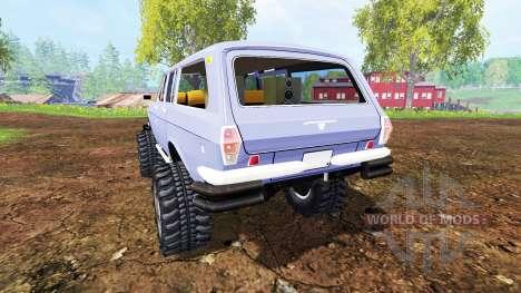 ГАЗ-24-12 Волга [монстр] для Farming Simulator 2015