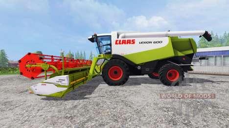 CLAAS Lexion 600 v2.0 для Farming Simulator 2015
