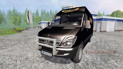 Mercedes-Benz Sprinter Service для Farming Simulator 2015