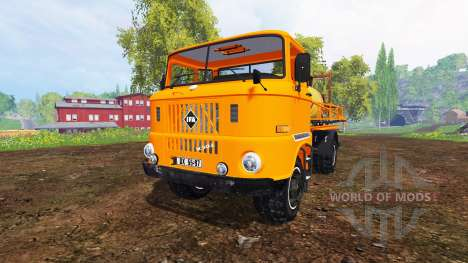IFA W50 [sprayer] для Farming Simulator 2015