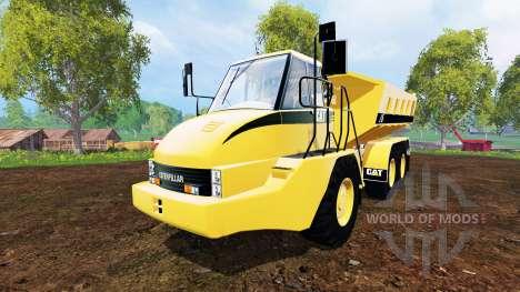 Caterpillar 725A [dump] для Farming Simulator 2015