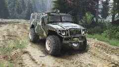 ГАЗ-2975 Тигр [дизель][25.12.15] для Spin Tires