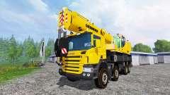 Scania P420 Liebherr LTF 1060 v1.1