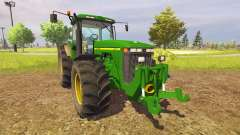 John Deere 8400 v1.3 для Farming Simulator 2013