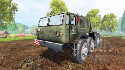 МАЗ-537 v1.1 для Farming Simulator 2015