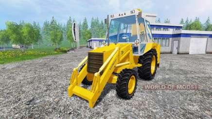 JCB 3CX 4WD v2.0 для Farming Simulator 2015