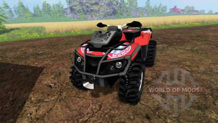 Can-Am Outlander 1000 XT [FCB] для Farming Simulator 2015