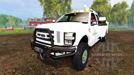 Ford F-350 Field Service v3.0 для Farming Simulator 2015