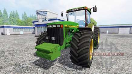 John Deere 8400 v1.5 для Farming Simulator 2015