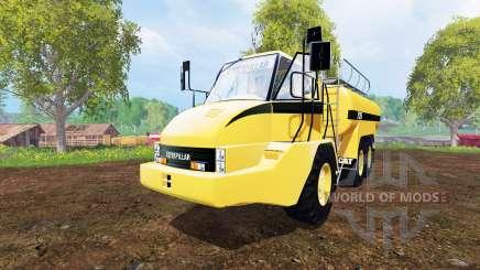 Caterpillar 725A [liquid manure] для Farming Simulator 2015