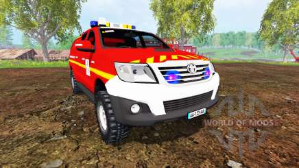 Toyota Hilux VLHR для Farming Simulator 2015
