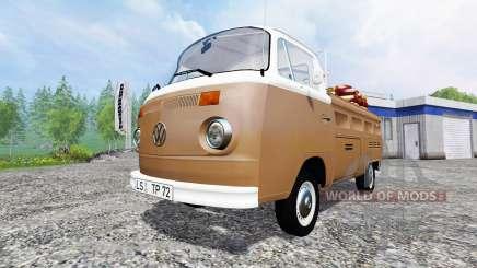 Volkswagen Transporter T2B 1972 Service для Farming Simulator 2015