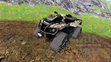 Can-Am Outlander 1000 XT [quadtrac camo] для Farming Simulator 2015