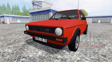 Volkswagen Golf I GTI 1976 для Farming Simulator 2015