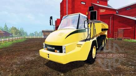 Caterpillar 725A [manure spreader] v2.0 для Farming Simulator 2015