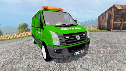 Volkswagen Crafter Service [pour galax] для Farming Simulator 2015