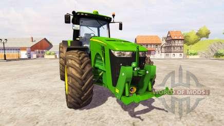 John Deere 8360R [front linkage] v2.1 для Farming Simulator 2013