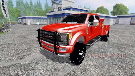 Ford F-450 2017 [welding rig] для Farming Simulator 2015